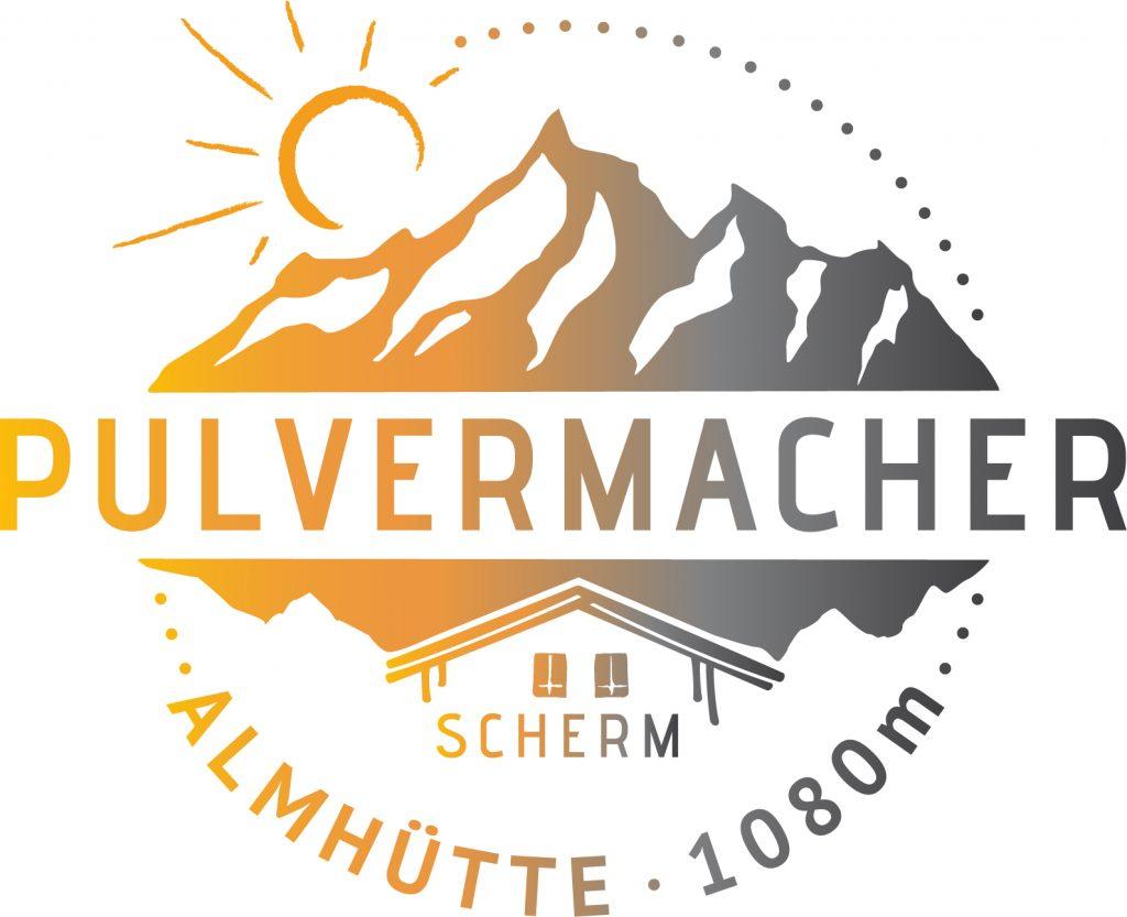 Pulvermacher Almhütte Logo